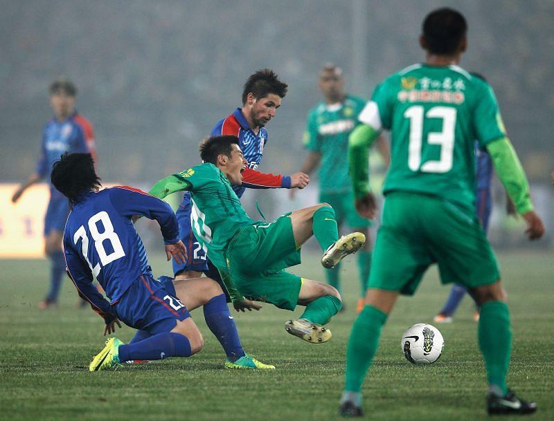 Shanghai Shenhua travel to the Jiangyin Stadium to take on Beijing Guoan