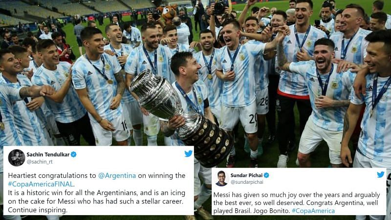 Lionel Messi and Argentina are the centre of attention, and deservedly so!