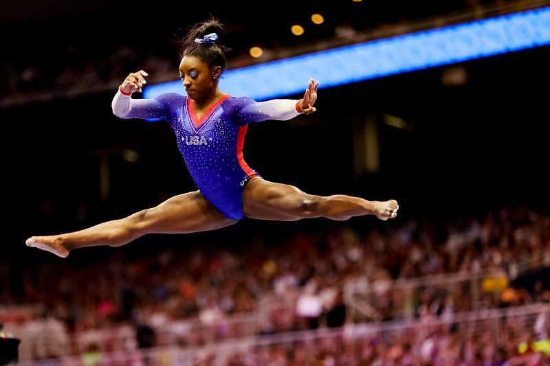Simone Biles is set to take the centre stage at the Tokyo Olympics 2020 (Photo by Carmen Mandato/Getty Images)
