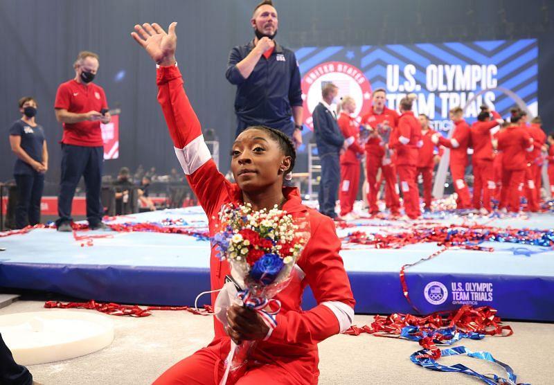 Simone Biles at the US Olympics Team Trials