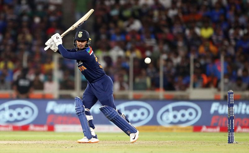 Ishan Kishan showed a buccaneering approach on his T20I debut as well