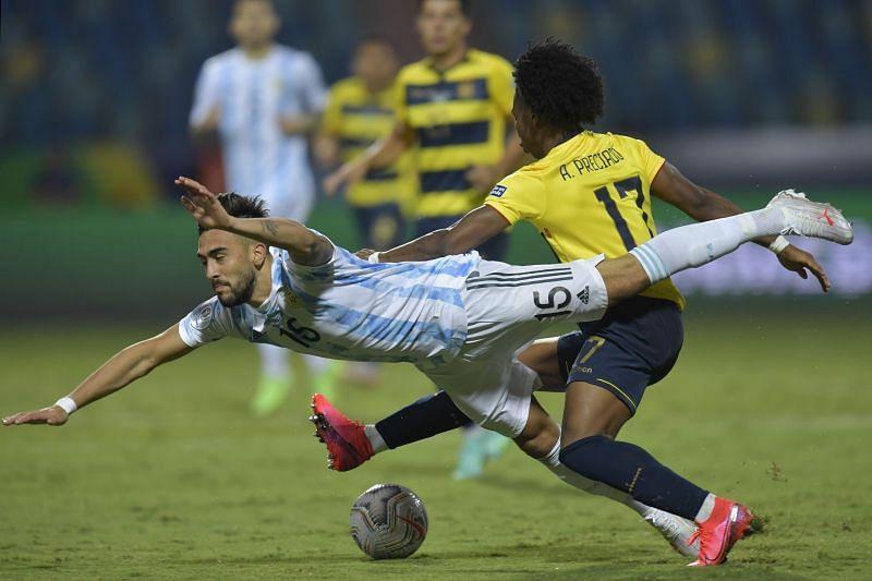 Argentina v Ecuador: Quarterfinals - Copa America Brazil 2021