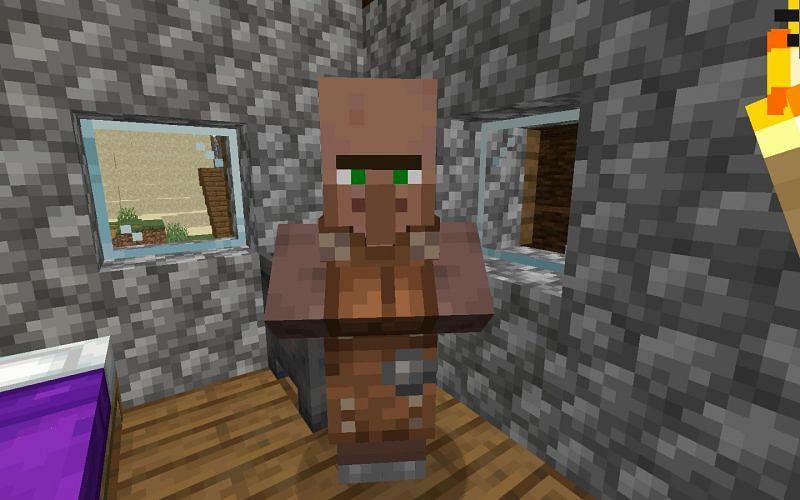 Leatherworker (Image via Minecraft)