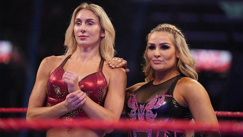 Charlotte Flair and Natalya