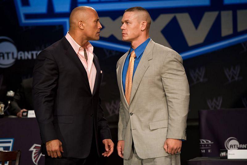 John Cena wants The Rock back in WWE