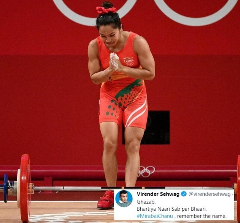 Mirabai Chanu won the silver medal in the Women's 49kg category at the 2020 Tokyo Olympics