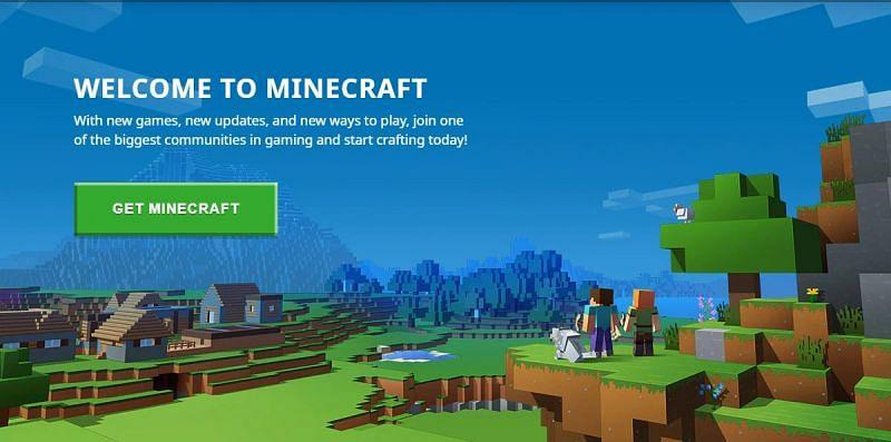 Get Minecraft (Image via official Minecraft website)