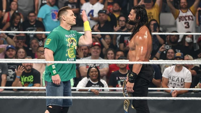 WWE SummerSlam में होगा रोमन रेंस और जॉन सीना का मैच