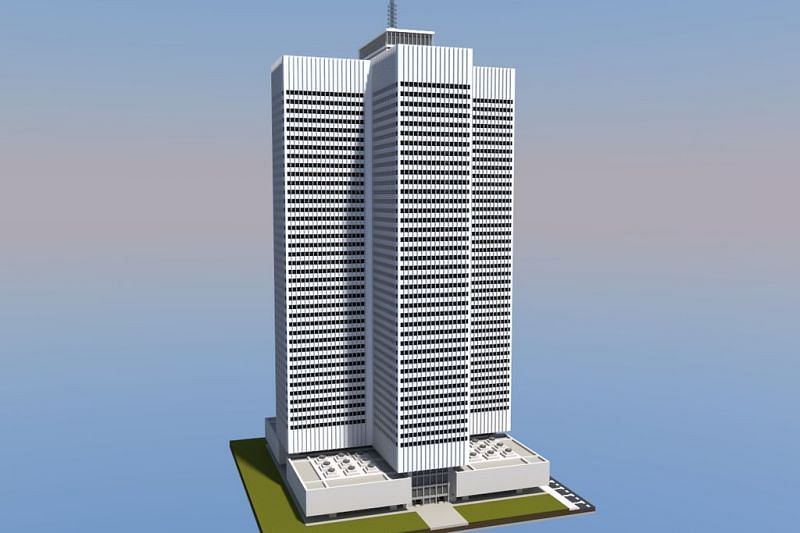 La plupart des gratte-ciel ont un design moderne (Image via Pinterest)