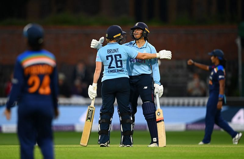 India Women vs England Women. Pic: Getty Images