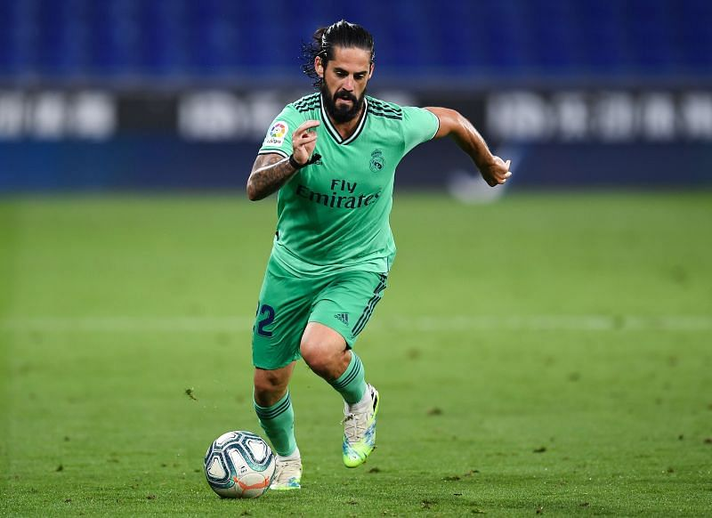 Isco has barely played for Real Madrid over the past few seasons.
