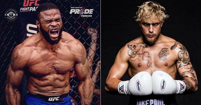 """""""I just don't think he can take it"""" - Tyron Woodley predicts the outcome of his fight against Jake Paul"""