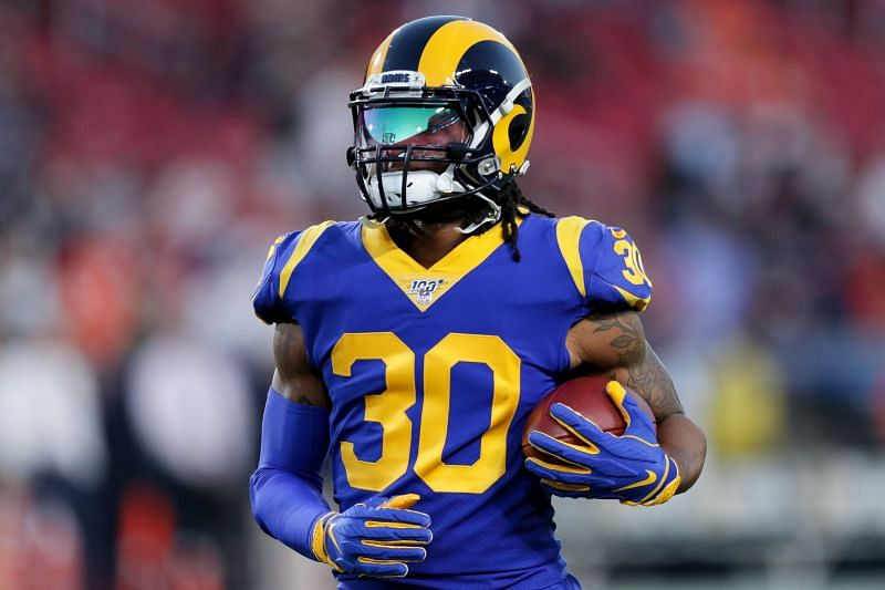 Former Los Angeles Rams RB Todd Gurley