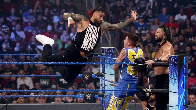 The Usos have their eyes set on the WWE SmackDown Tag Team Championships