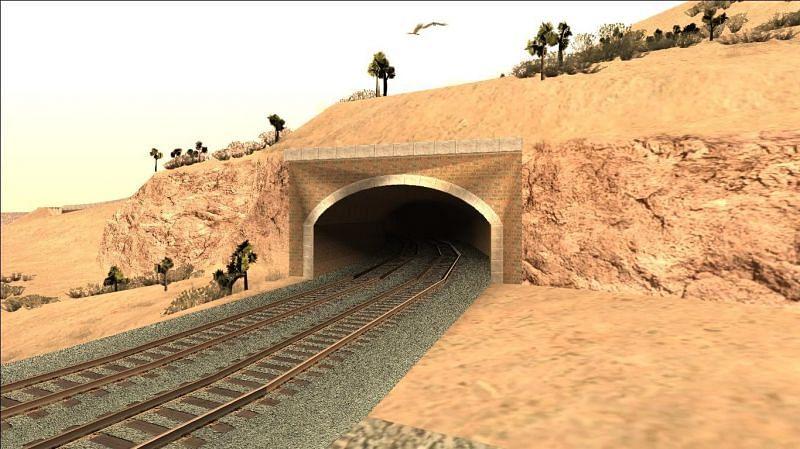 Welcome to the desert region of Bone County (Image via GTA Wiki)