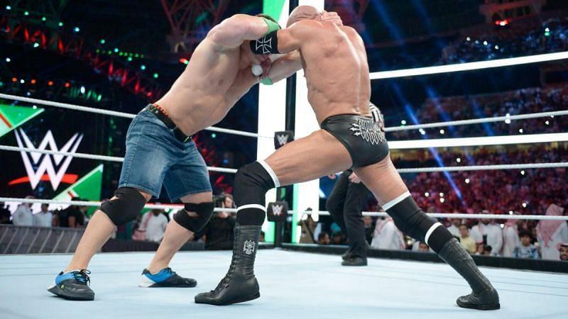 John Cena vs. Triple H in Saudi Arabia