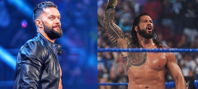 WWE सुपरस्टार्स फिन बैलर और रोमन रेंस