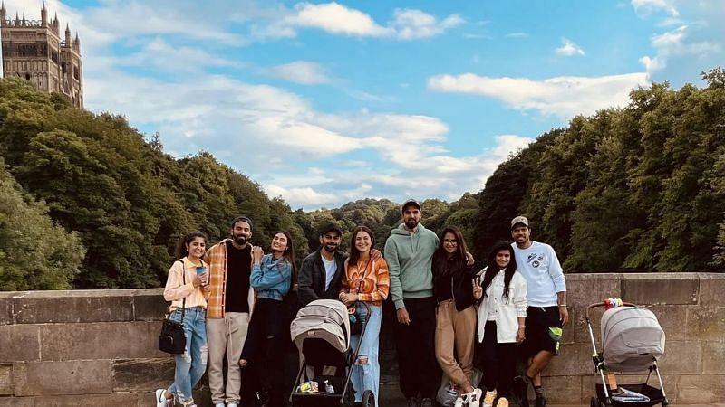 Anushka Sharma shared an image of the gang with their partners (Instagram)