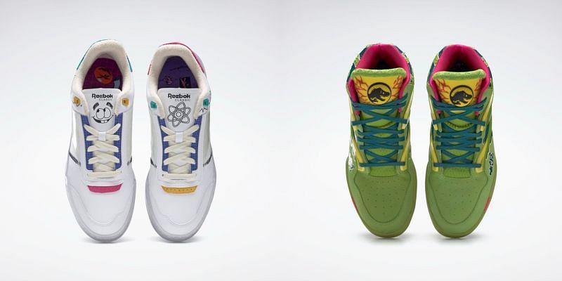Club C Legacy Shoes and Pump Omni Zone II (Image via Reebok)