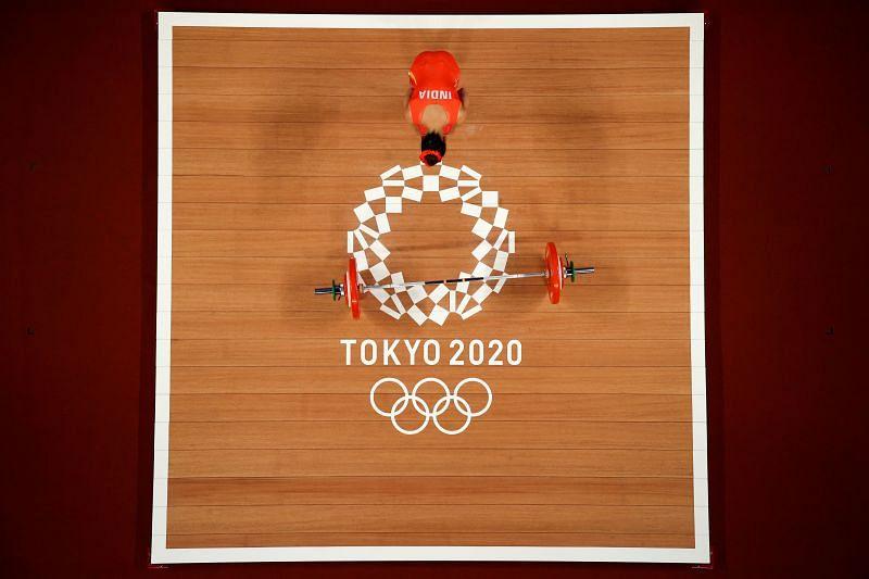 Weightlifting - Olympics Mirabai Chanu (India)