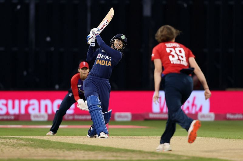 Smriti Mandhana batted well for India Women in the first T20I against England Women.