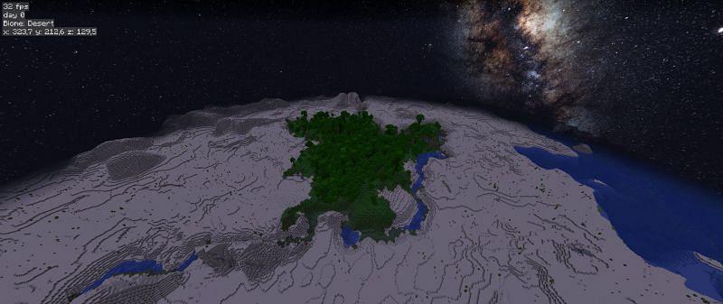 Natural oasis (Image via u/Killstepz on Reddit)