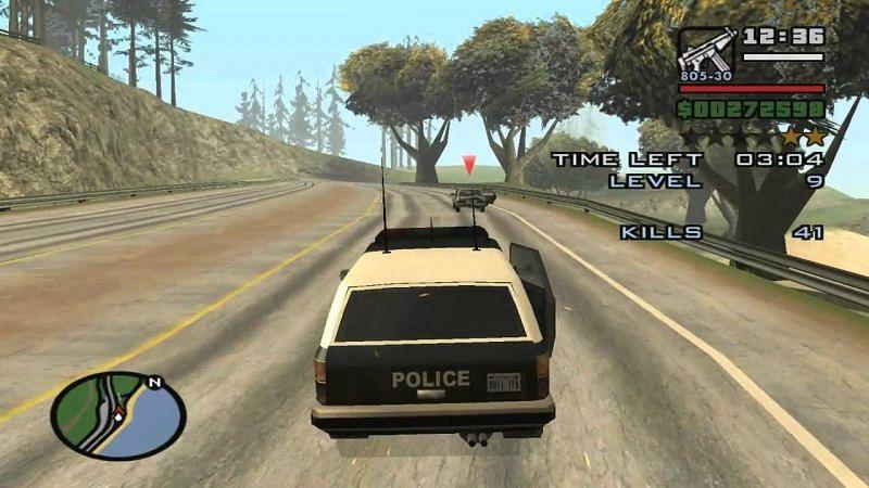 Vehicle missions like Vigilante involve pedestrians (Image via fnxrak)