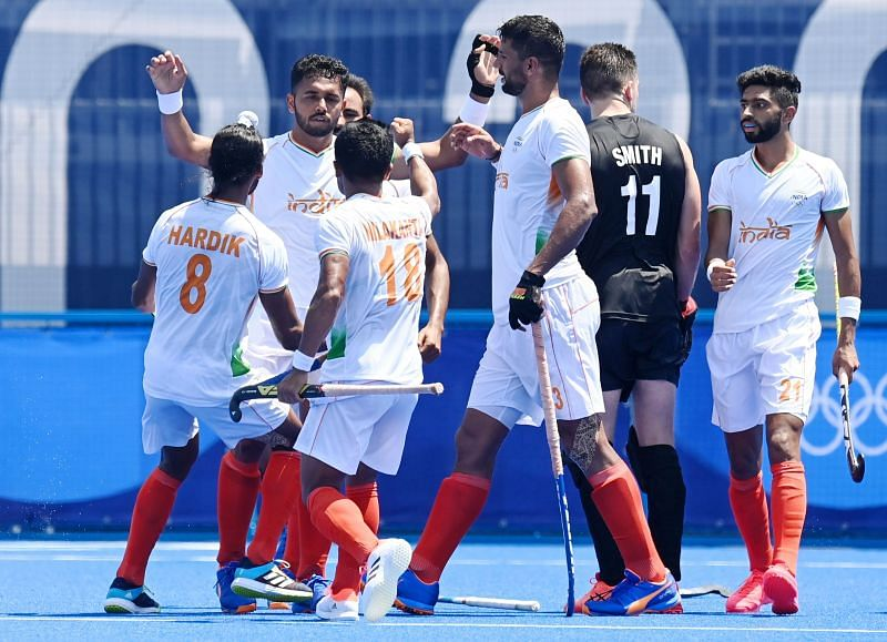 Harmanpreet was at his best against NZ Image Ctsy: Hockey India