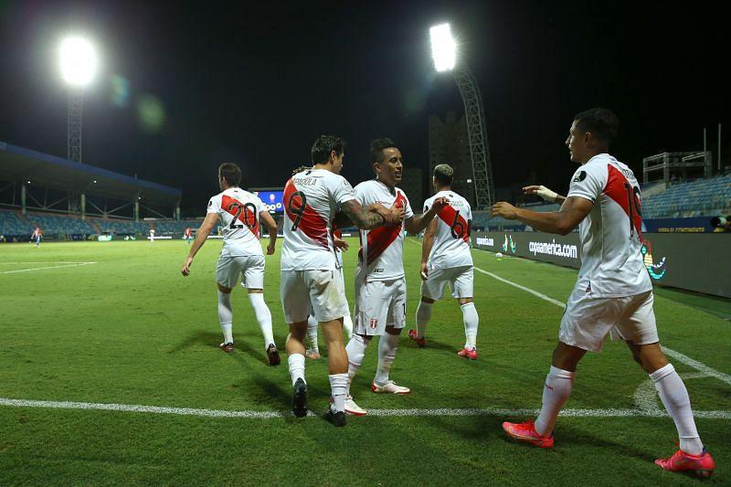 Peru v Paraguay: Quarterfinal - Copa America Brazil 2021