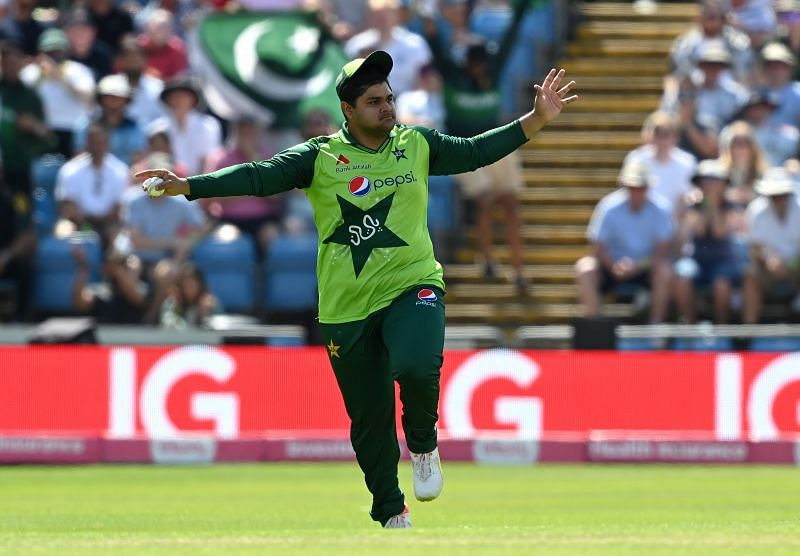 Azam Khan scored one run off four deliveries in the 2nd T20I against England