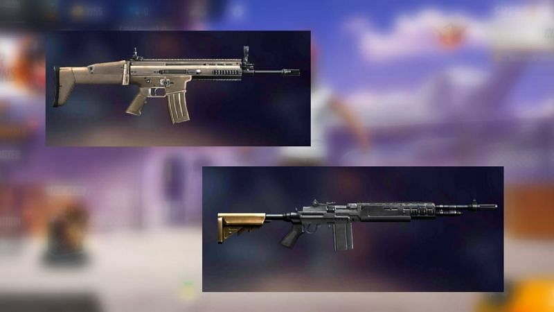 Scar and M14