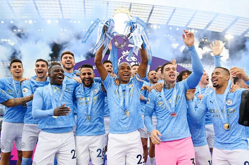 Manchester City is one of the most successful domestic league teams in the 21st century