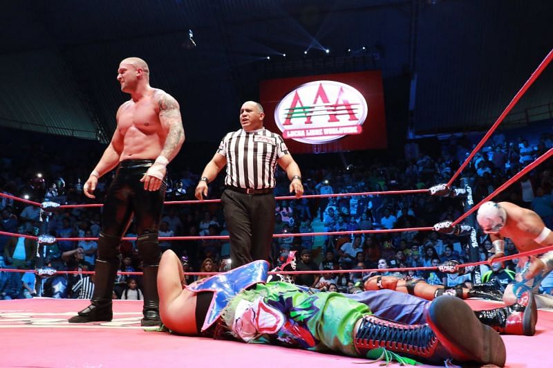 Kevin Kross in Lucha Libre AAA