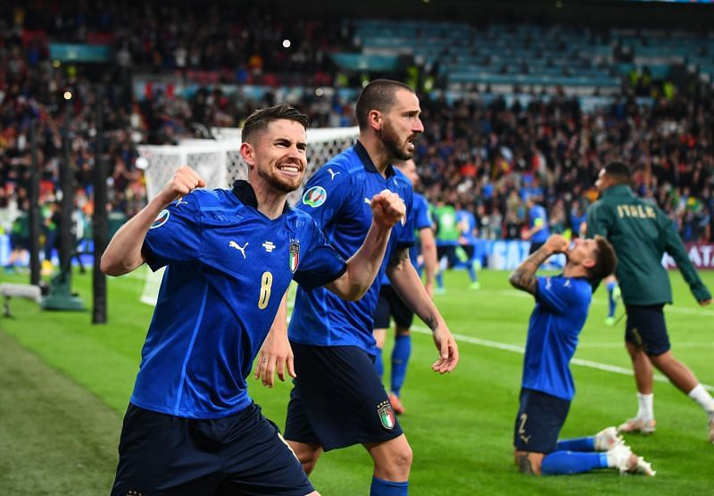 Italy beat Spain in a penalty shootout to reach the Euro 2020 final.