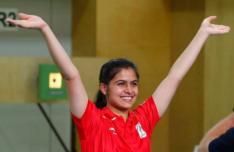 Manu Bhaker will eye Olympic medals in 10m air pistol and 10m air pistol mixed team at the Tokyo Olympics 2020