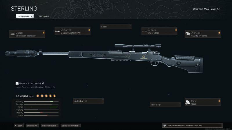 The best Kar98k loadout for Call of Duty: Warzone Season 4 Reloaded - Sportskeeda