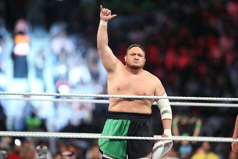 Samoa Joe in NXT