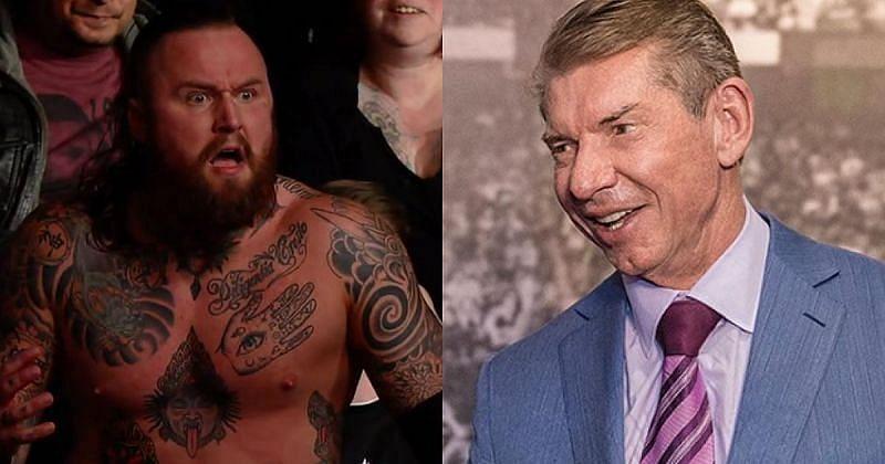 Malakai Black and Vince McMahon