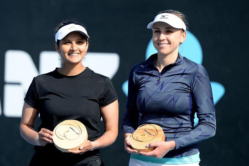 Sania Mirza last won a title at the 2020 Hobart International, partnering Ukraine's Nadiia Kichenok.