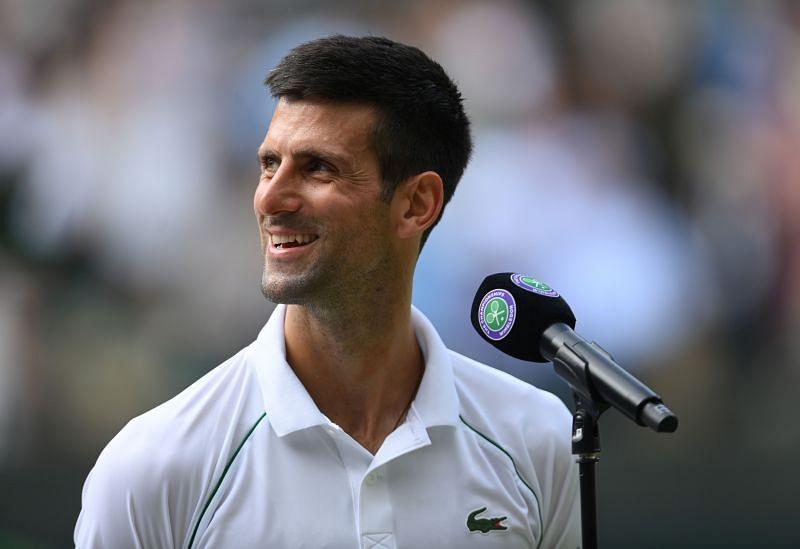 Novak Djokovic after beating Denis Kudla