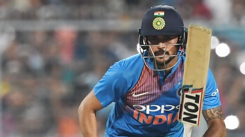 Manish Pandey has been in and out of the side ever since his debut