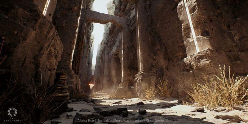 Alpha Point in gioco su Xbox Series X (Immagine da Alliance)