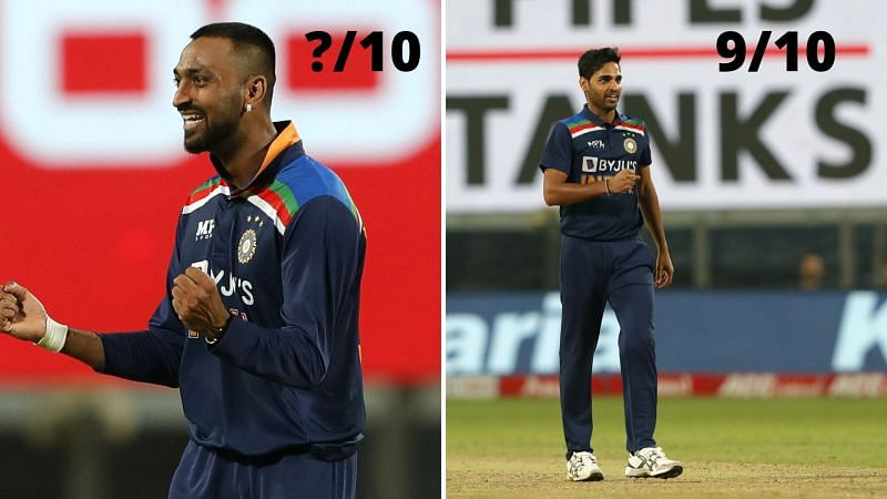 Bhuvneshwar Kumar scalped four wickets in the 1st T20I