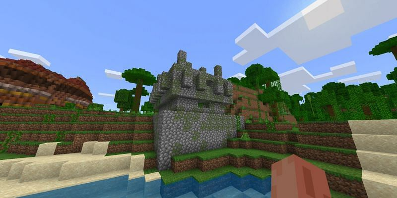 Jungle temple (Image via Minecraft)