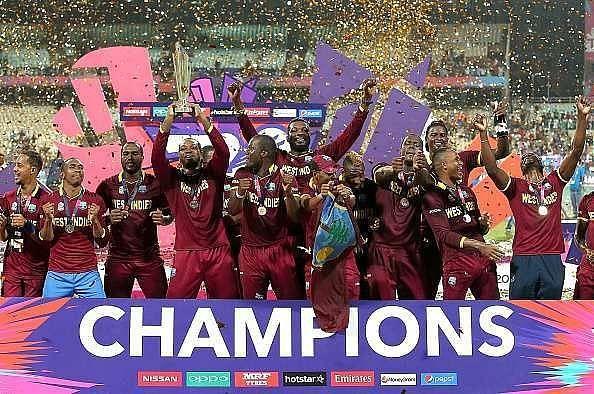 Defending champions West Indies