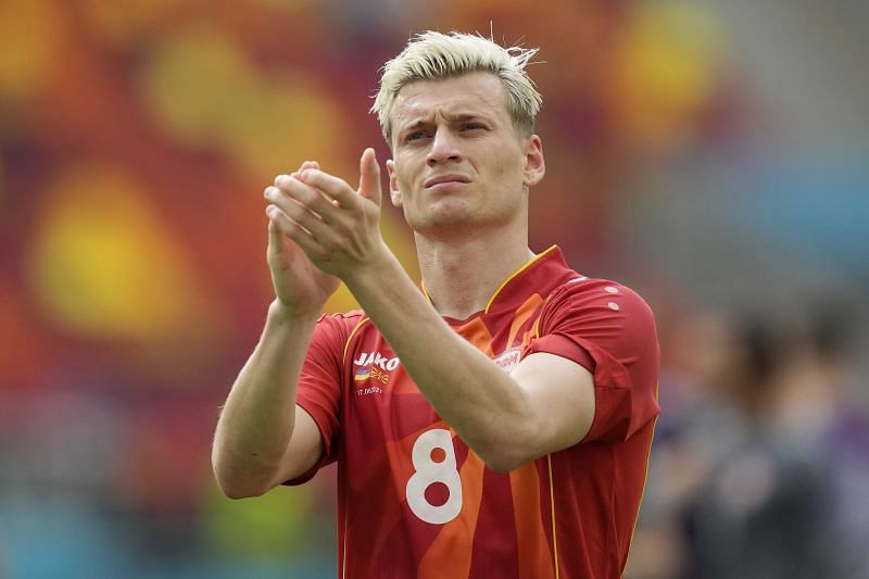 Alioski was one of the better Macedonian players at the Euros