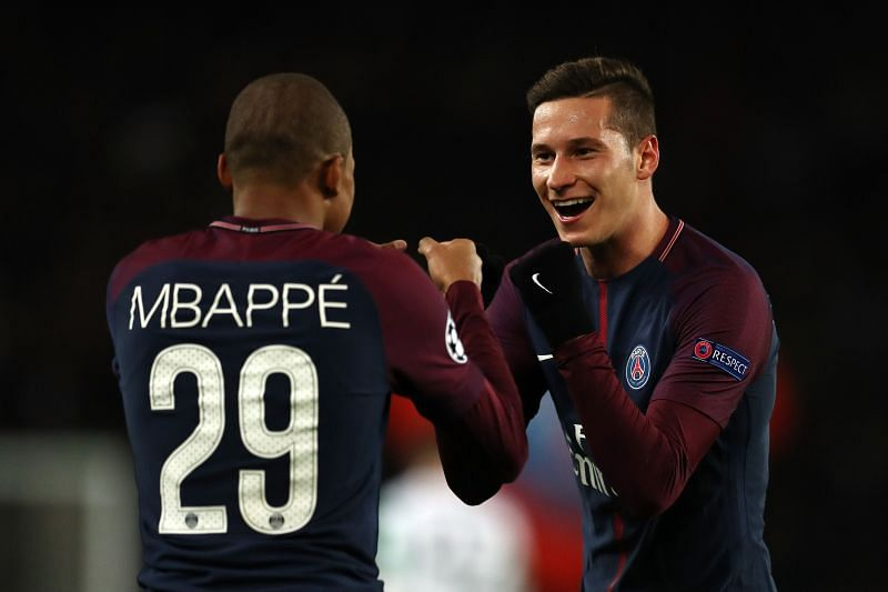 Draxler (R) has fallen out of favor at PSG