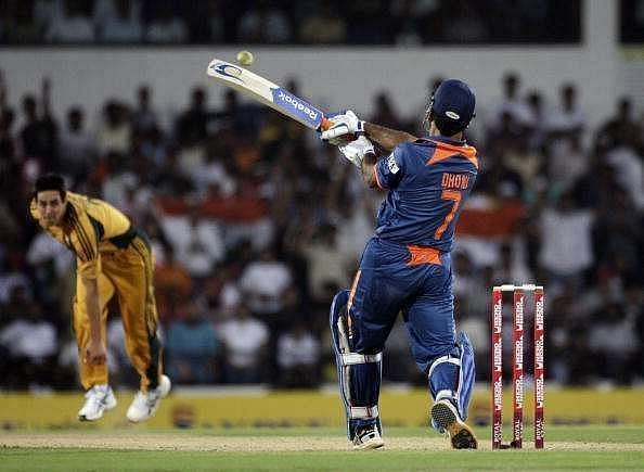 MS Dhoni was at his virtuoso best against Australia at Nagpur