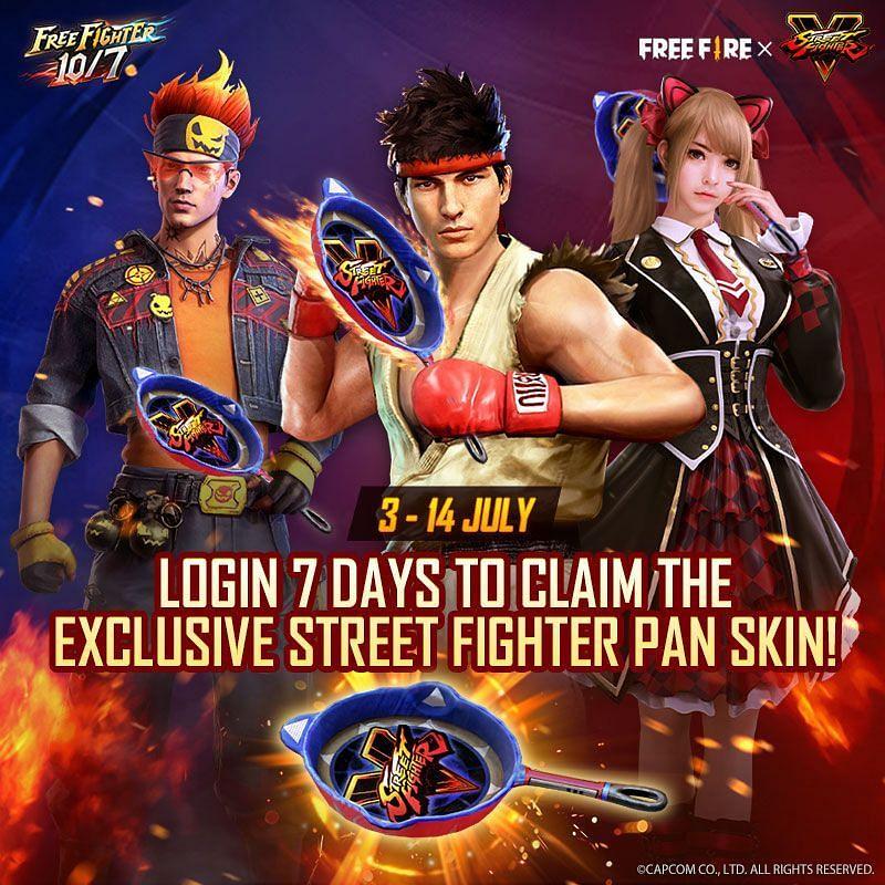 Street Fighter V Pan