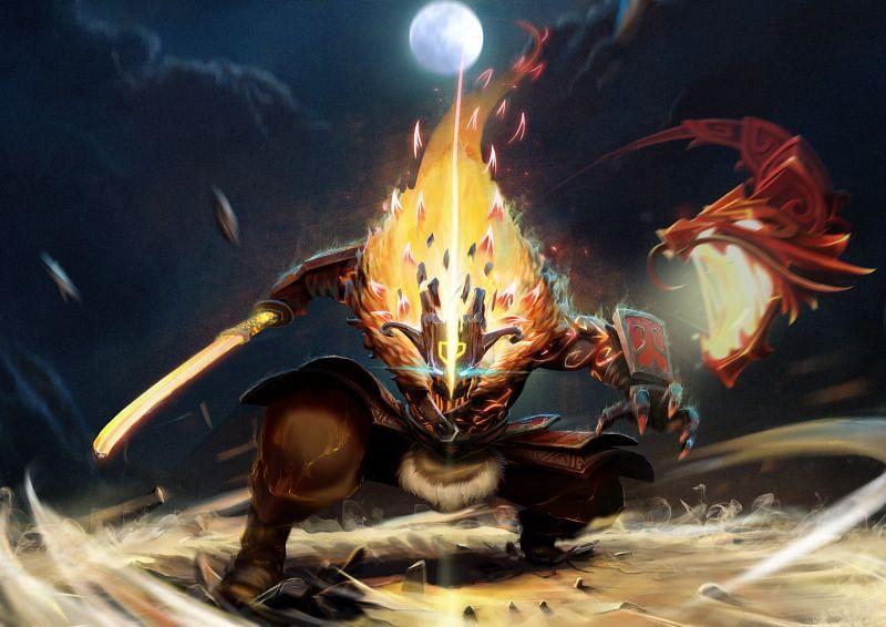 Juggernaut - the quintessential safelane carry hero of Dota 2 (Image via Valve)
